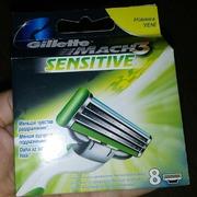 Gillette mich3 sensetive 8 шт упаковка